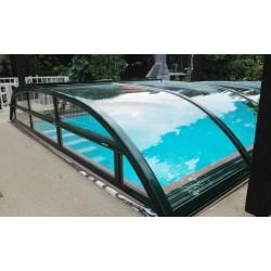 VISION, l'abri de piscine discret et élégant pour votre piscine